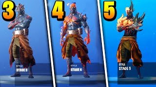 How to UNLOCK ALL Prisoner Skin Stages! All KEY LOCATIONS in Fortnite..