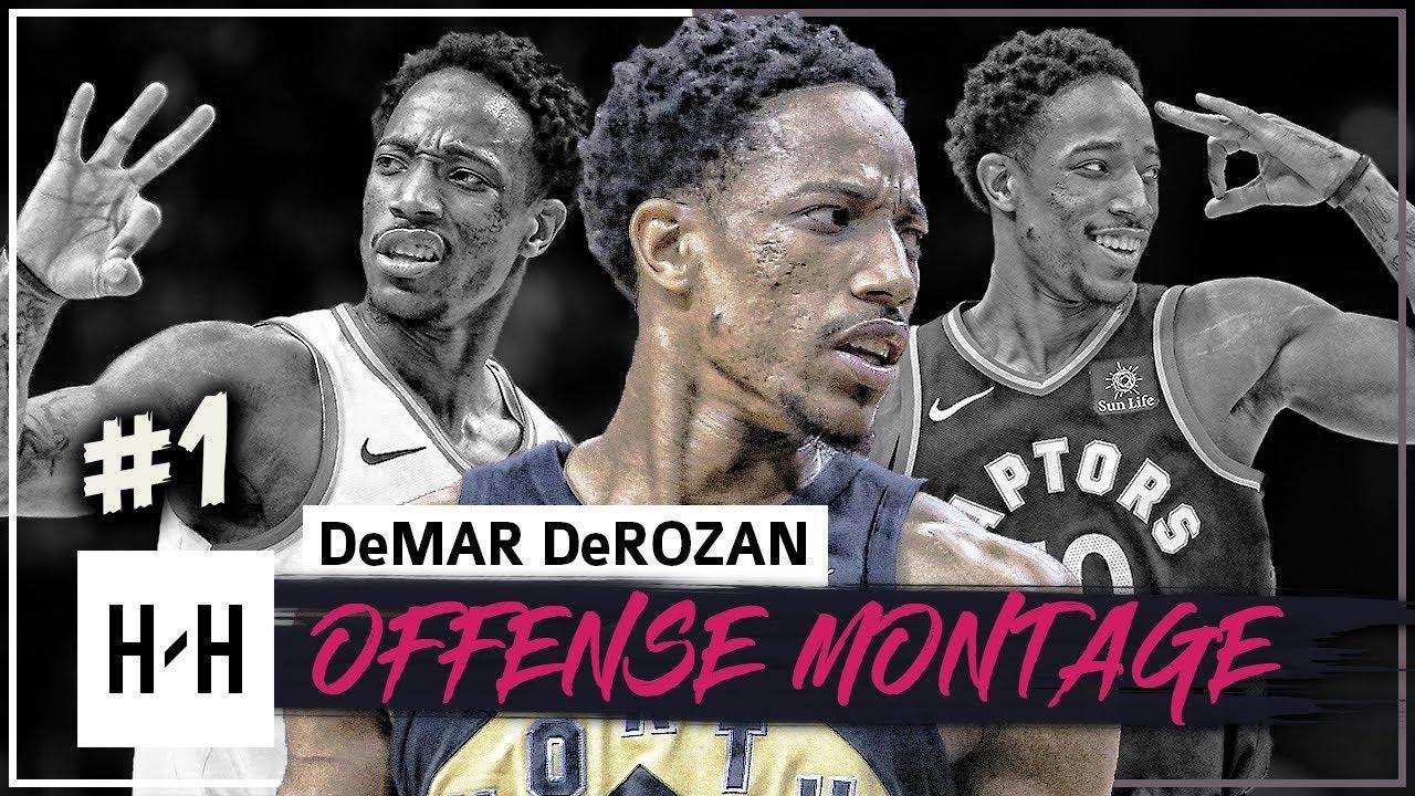d93a7e1ab99 DeMar DeRozan COLD Montage, Full Offense Highlights 2017-2018 (Part 1) - All -Star Starter!