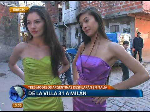 tres modelos de la villa 31 a mil n telefe noticias