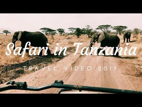 Safari in Tanzania and visiting Zanzibar - Travel Video 2017