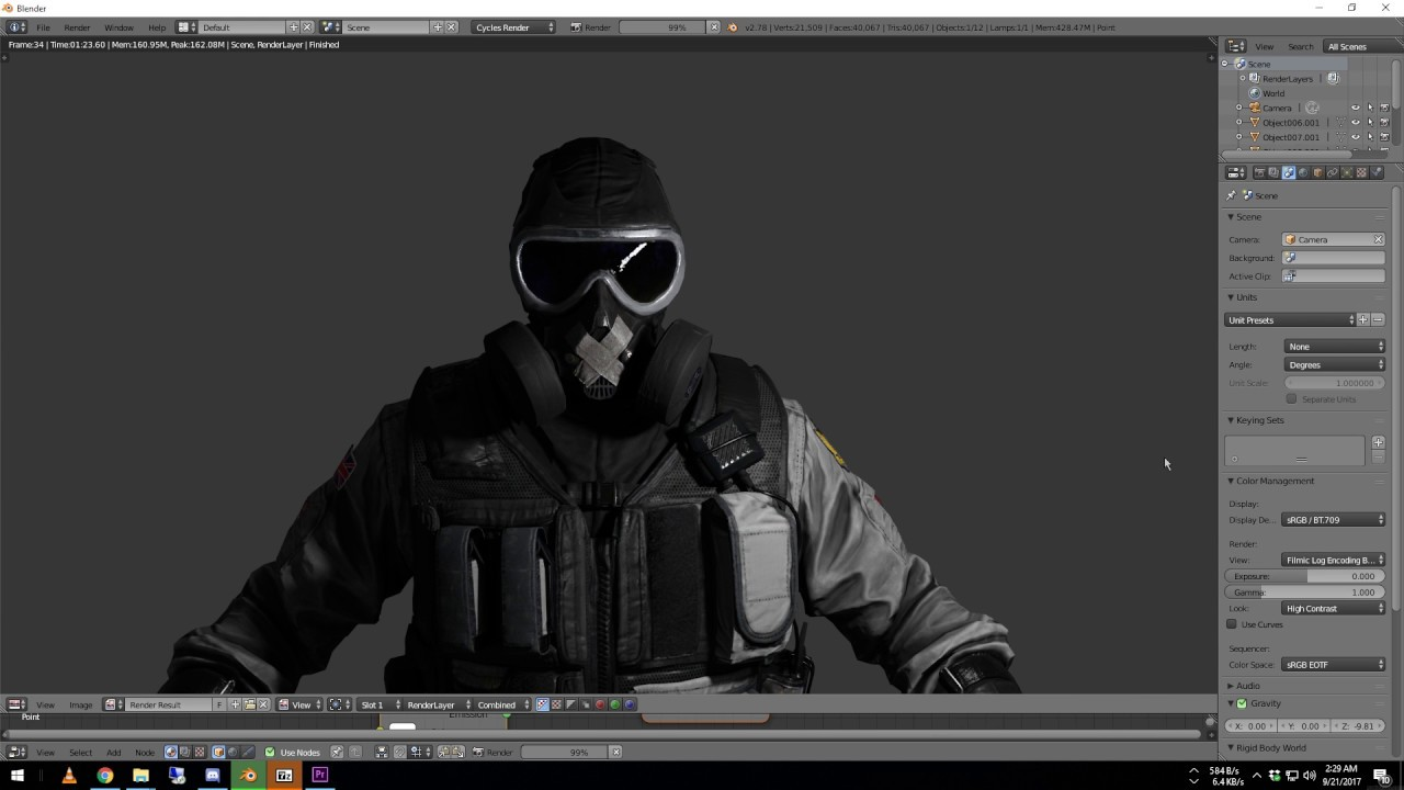 How to import Rainbow Six: Siege models into Blender *READ THE DESCRIPTION  FOR IMPORTANT INFO*