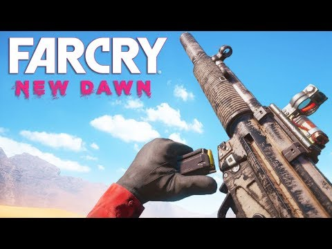 Far Cry New Dawn Gun Sounds Of All Weapons Youtube