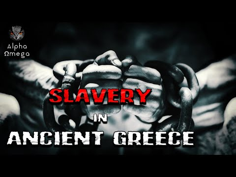 Slavery in Ancient Greece (Greek/English subtitles) - Ancient Greek History | Alpha Ωmega