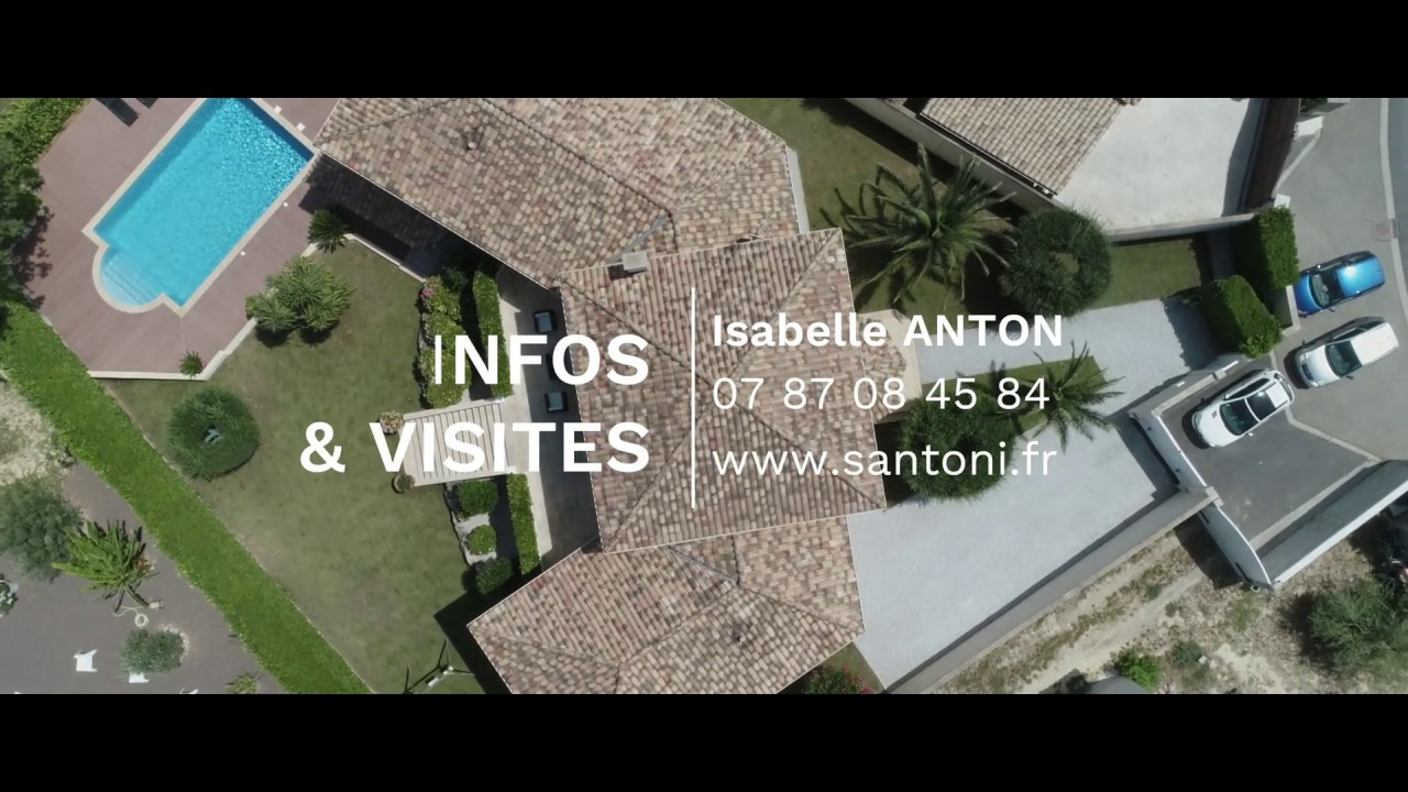 Vidéo promotionnelle d'une villa à la transaction