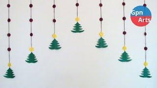 Diy Christmas Decoration Idea | Home Room & Wall Decor Ideas