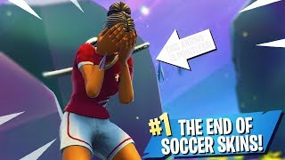 This is the END of Fortnite Soccer Skins...