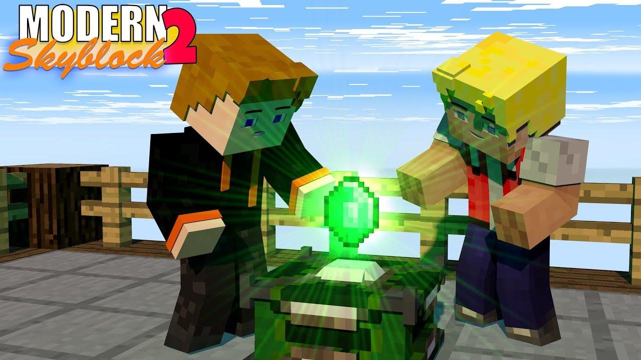 Die Display Stands Modern SkyBlock Expert Mode YouTube - Minecraft moderne hauser lekoopa