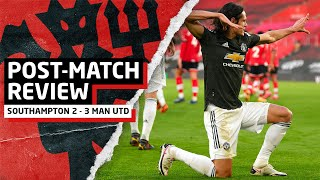 CAVANI: REAL CENTRE FORWARD! | Southampton 2-3 Manchester United | Post-Match Review