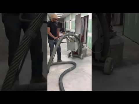WSM Epoxy Floors - Concrete floor preparation