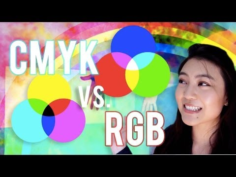 When to Use CMYK or RGB