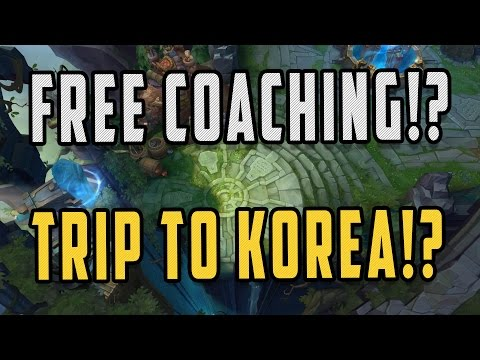 FREE COACHING UNLOCKED ON STREAM AND KOREA TRIPS!