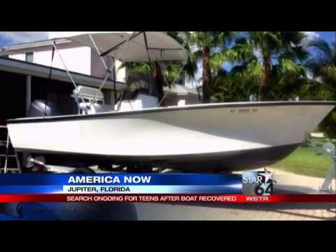 Missing Florida teens' boat found empty