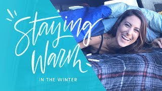 Winter Truck Camping - H๐w to stay warm