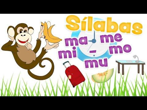Sílabas Ma Me Mi Mo Mu Palabras Con La Letra M Aprender A Leer