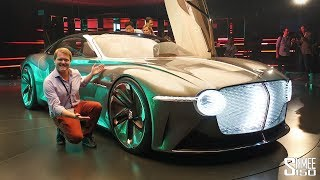 Check Out Bentley's NEWEST Car! EXP 100 GT | FIRST LOOK