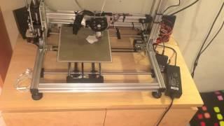 3D Printer K8200 - Building and Printing