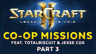 Legacy of the Void - Co-op missions feat. TotalBiscuit & Jesse Cox - Part 3 [Sponsored]