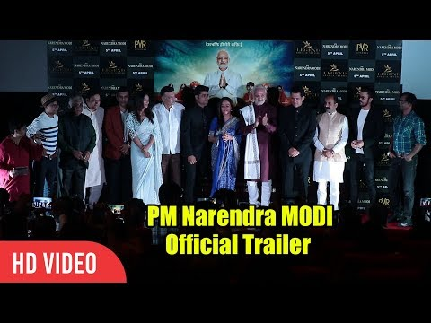 PM Narendra MODI Official Trailer Launch   COMPLETE VIDEO   Vivek Oberoi, Omung Kumar, Sandip Ssingh