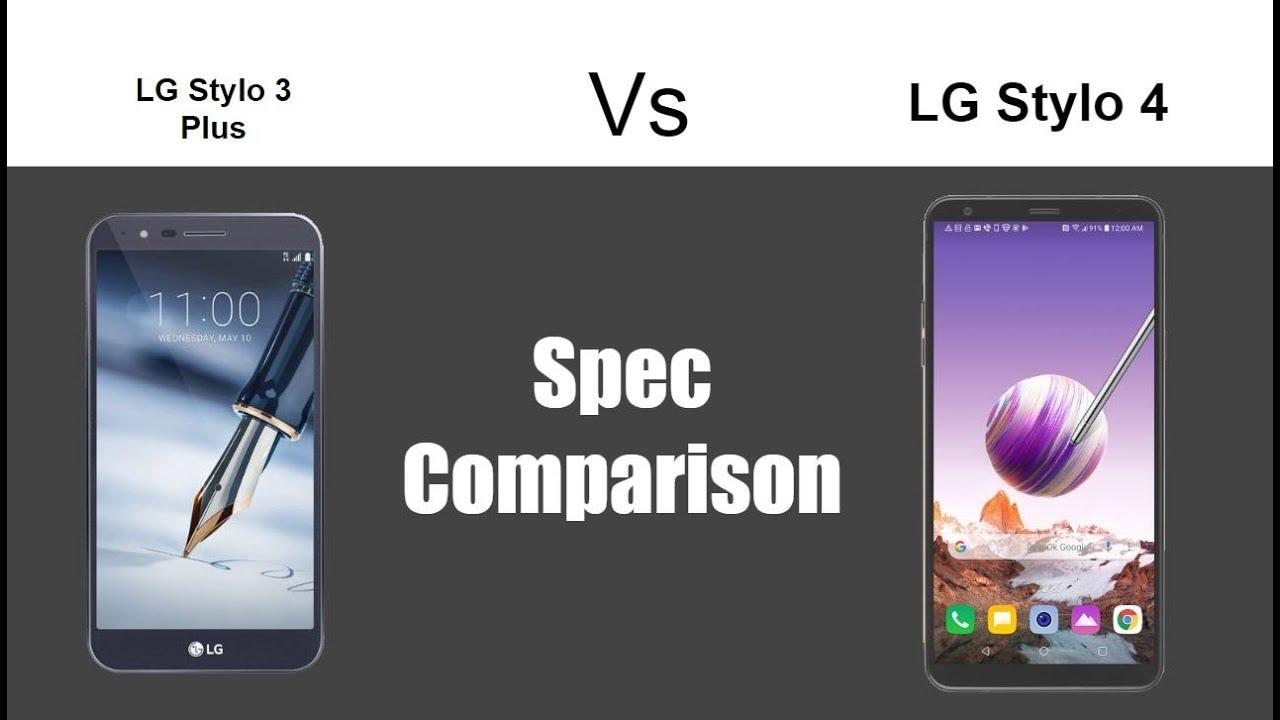 LG Stylo 3 vs LG Stylo 4 - Spec Comparison