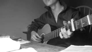 ngắm trăng đáy hồ - Rain nguyen guitar