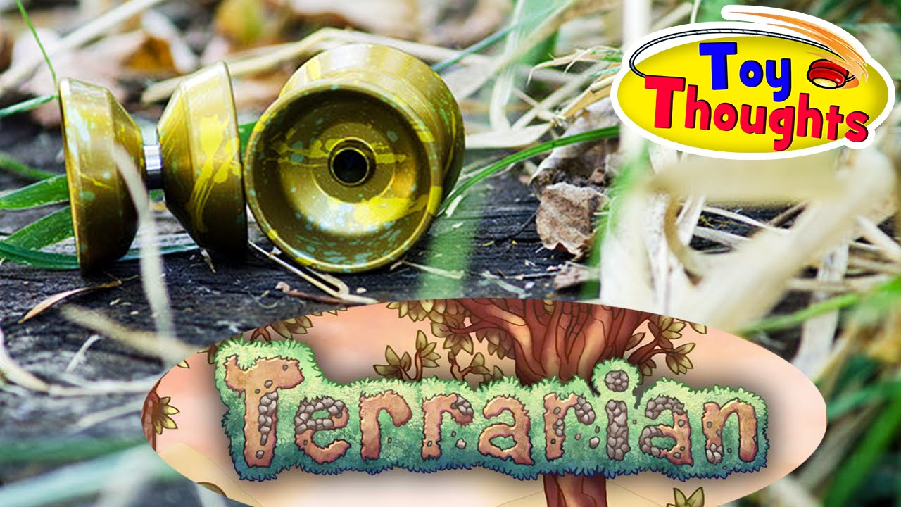the terrarian yoyo by one drop toy thoughts ep 1 youtube