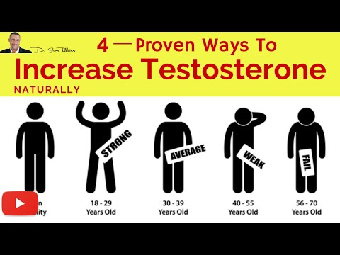 ♂ 4 Clinically Proven Ways To Increase Your Testosterone Levels, Naturally by Dr Sam Robbins