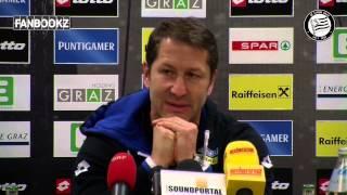 SK Sturm: Mediabriefing vor SV Grödig (Nachtrag 20. Runde)