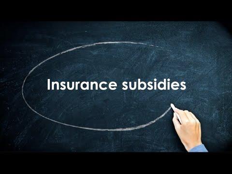 Health Insurance 101: Insurance subsidies