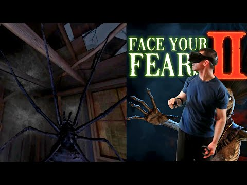 Face Your Fears 2 VR Gameplay On Oculus Quest
