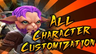 Order & Chaos 2: Redemption - All Character Customization!