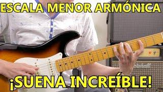 Aprende La HERMOSA Escala Menor Armonica En Guitarra | SUPER FACIL!