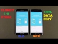 Recover data  from android to android 100% clone (Clone it)