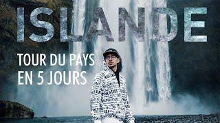 Tour de L'ISLANDE en 5 JOURS - VLOG
