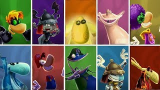 Rayman Legends - All Characters (Including exclusives!)