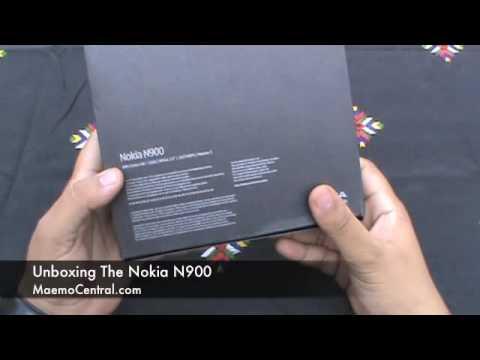 Nokia N900 Unboxing