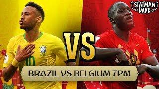 Brazil 1 - 2 Belgium LIVE | Statman Dave Watchalong