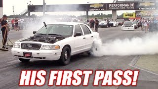Project Neighbor's VERY FIRST Drag Racing Pass! It's a Start...