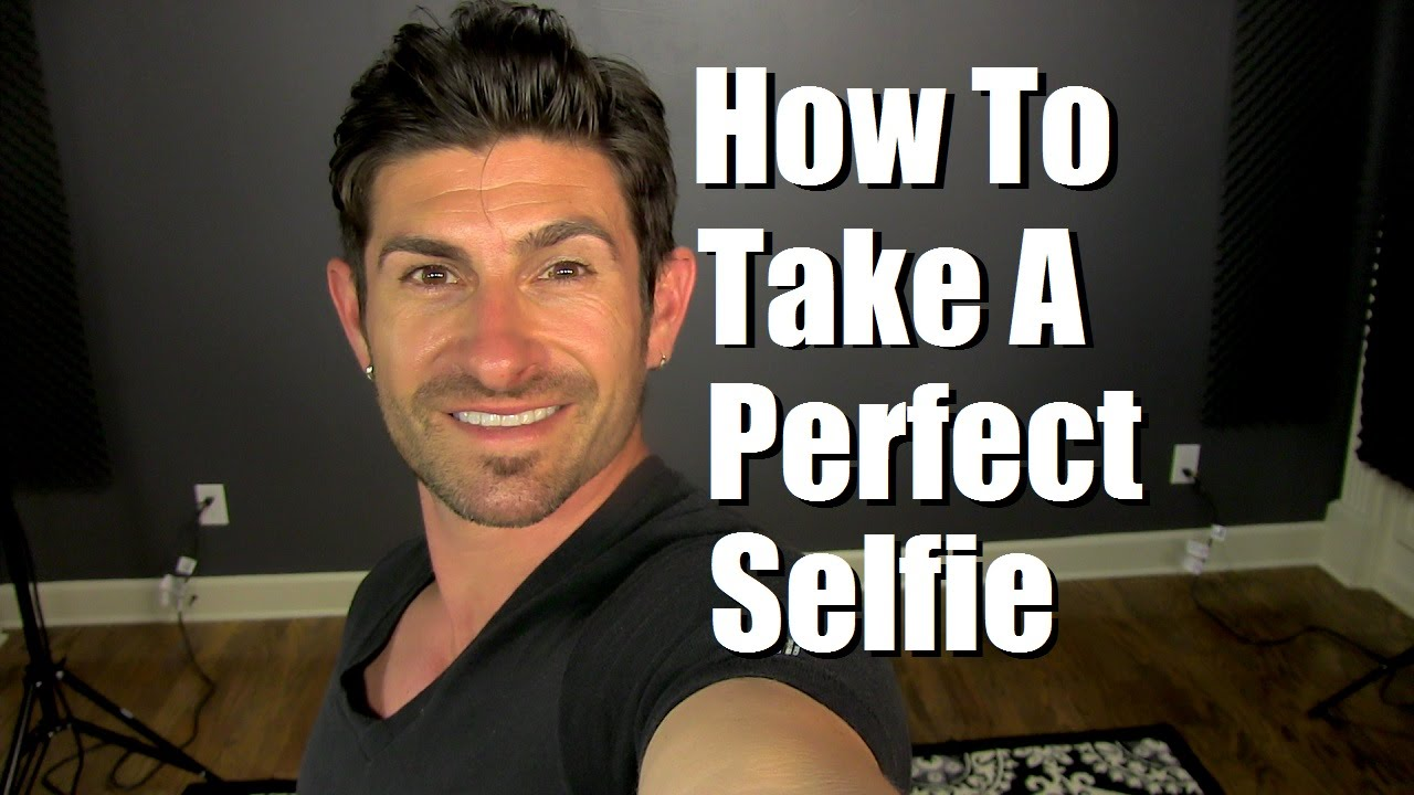 How to take a good picture for guys