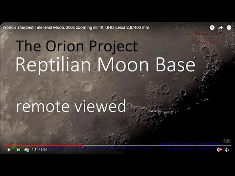 Moon Base | Remote View | The Orion Project