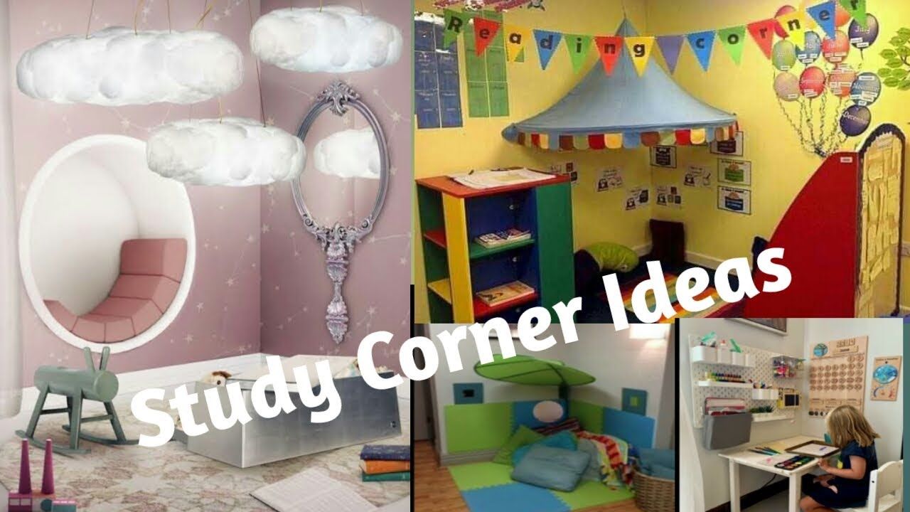 Diy Study Corner Study Corner Ideas For Kids Book Reading Ideas Wonderful Ideas Youtube