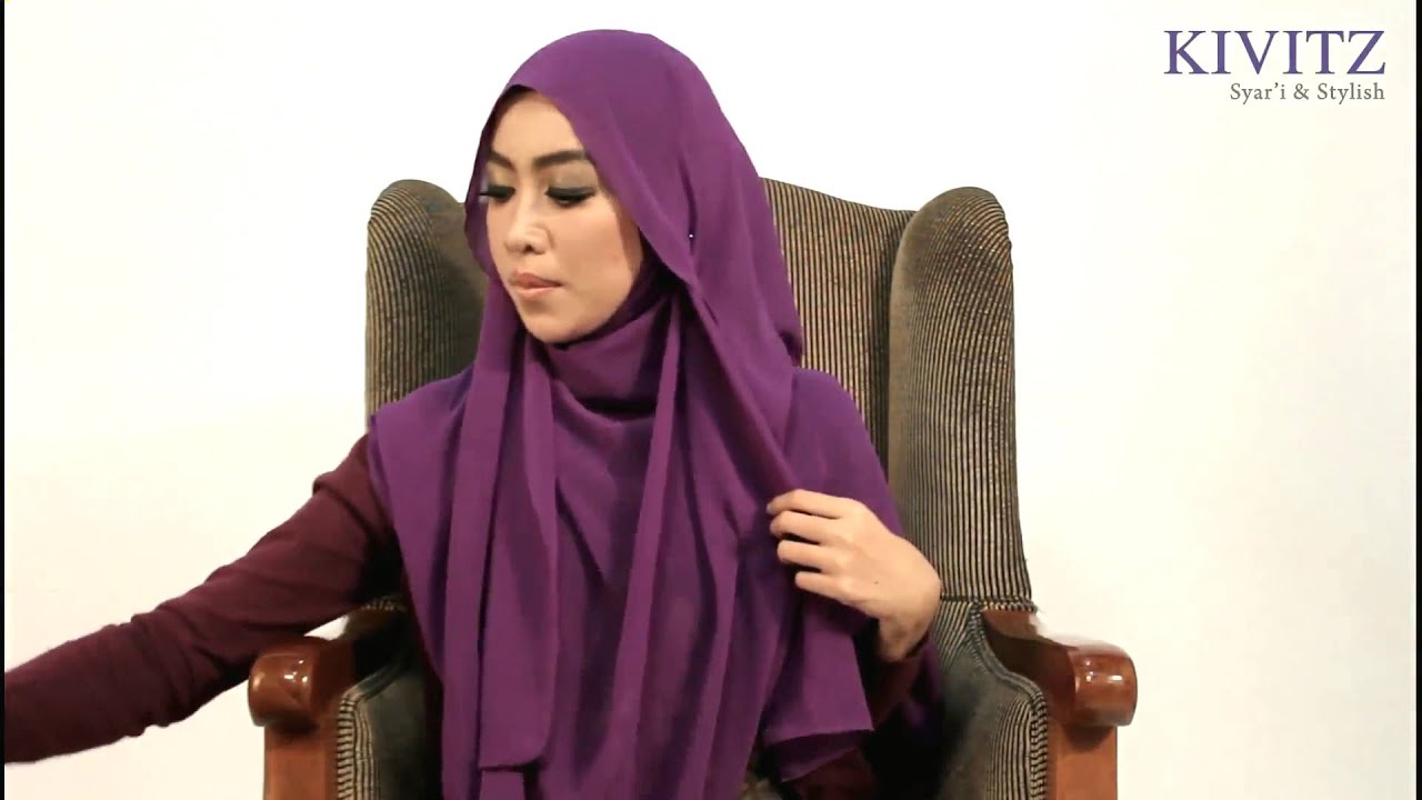 KIVITZ Hijab Tutorial By Fitri Aulia Vol 1 YouTube