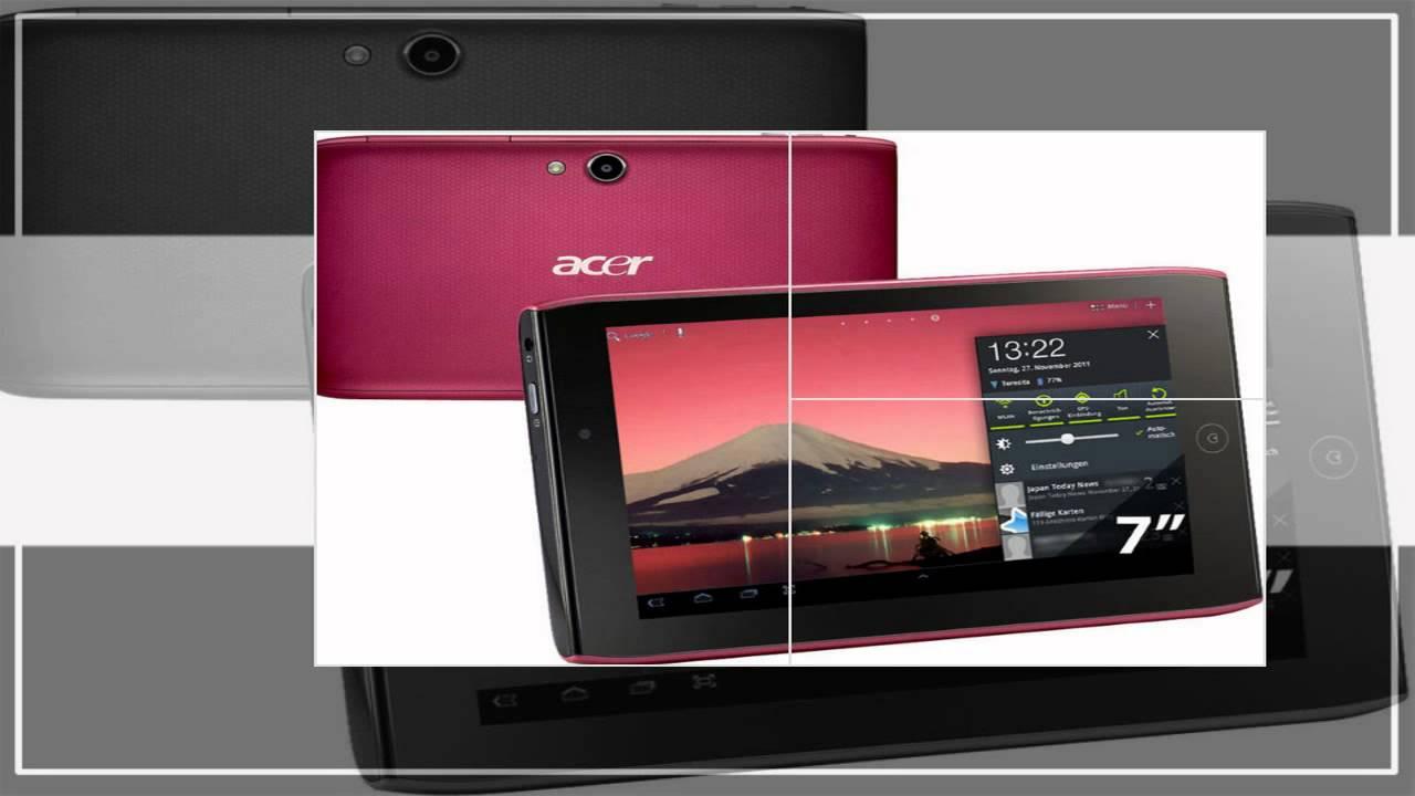 tablette acer iconia 7 pouces pas cher youtube. Black Bedroom Furniture Sets. Home Design Ideas