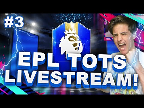 EPL TOTS LIVESTREAM!! (Upgrade packs?!, Gegarandeerde SBC?!) || FIFA 19 Nederlands