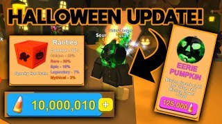NEW HALLOWEEN UPDATE 🎃 (NEW CODES!) | ROBLOX Mining Simulator Update