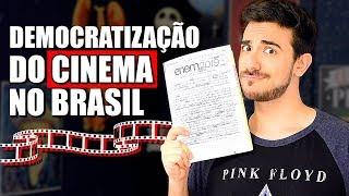 MINHA REDAÇÃO DO ENEM 2019 (CORRIGIDA): Democratização do Acesso ao CINEMA no Brasil