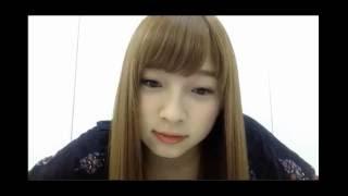 2016,8,7,14:00~ 東由樹さんのSHOWROOMです.