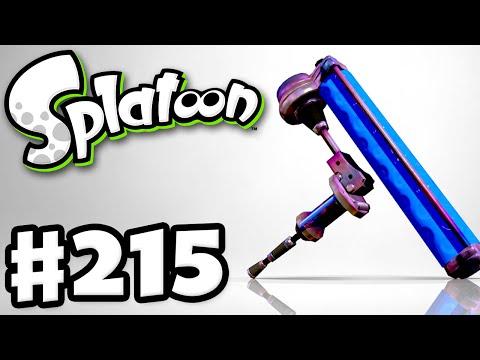 Splatoon - Gameplay Walkthrough Part 215 - Tempered Dynamo Roller! (Nintendo Wii U)