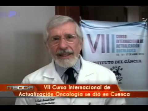 VII Curso Internacional de actualización oncología se dió en Cuenca