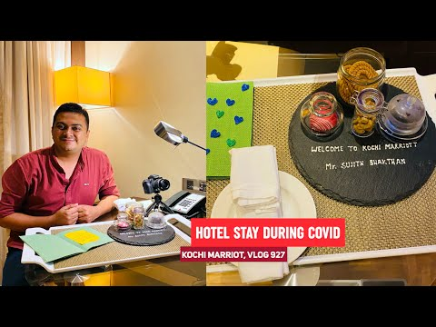 Staying In A Hotel During COVID 19, What To Expect? Vlog From Kochi Marriot