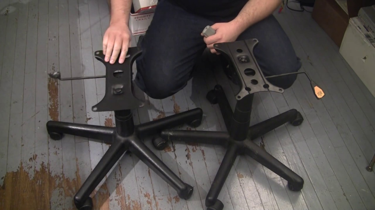 Dumpster Diving  office chair upgrade repair Tips n